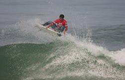 Jeronimo Vargas (BRA) in ASP World Qualifier Stock Image