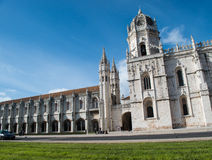 Jeronimos修道院。里斯本。葡萄牙 图库摄影