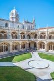 Jeronimos修道院在里斯本,葡萄牙 免版税库存图片