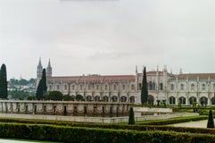 Jeronimos修道院在贝拉母 里斯本 库存照片