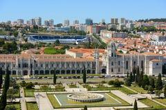 Jeronimos修道院,里斯本,葡萄牙 免版税库存照片