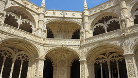 jeronimos修道院,里斯本 免版税库存图片