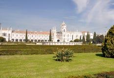 jeronimos里斯本修道院葡萄牙 图库摄影