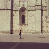 jeronimos del DOS del igreja en Lisboa Imagen de archivo libre de regalías