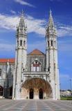 Jeronimos Hieronymites Monastery in Lisbon, Portugal Stock Image