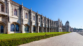 (Jeronimos Klooster, Lissabon royalty-vrije stock afbeelding