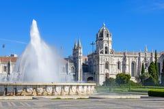 (Jeronimos Klooster, Lissabon Royalty-vrije Stock Afbeeldingen