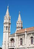 Jeronimos kloster Royaltyfri Foto