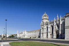 Jeronimos-Kloster Abbey Belem Lisbon lizenzfreie stockfotografie
