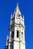 Jeronimos kloster, Lisbon, Portugal Royaltyfria Bilder