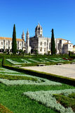 Jeronimos kloster, Lisbon, Portugal Arkivbilder
