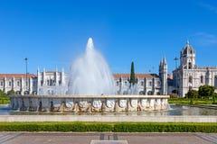 (Jeronimos Kloster, Lissabon Lizenzfreies Stockfoto