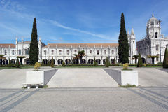 Jeronimos-Kloster, Lissabon, Portugal Lizenzfreie Stockbilder