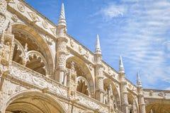 Jeronimos-Kloster in Lissabon, Portugal Stockbild