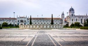 Jeronimos-Kloster oder Hieronymites-Kloster Lizenzfreie Stockfotografie