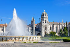 jeronimos Lisbon monaster Obrazy Royalty Free