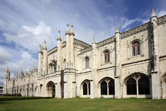 jeronimos Lisbon monaster Portugal Zdjęcie Stock