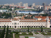 Jeronimos, Lisbona, Portogallo Immagine Stock