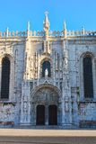 jeronimos monaster Zdjęcie Stock