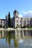 Jeronimos monaster, Lisbon, Portugalia zdjęcia stock
