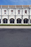 Jeronimos monaster, Lisbon, Portugalia obrazy royalty free