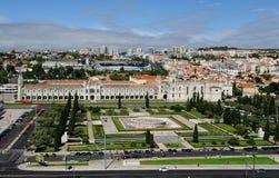 Jeronimos monaster, Lisbon, Portugalia fotografia stock