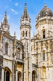 Jeronimos monaster przy Lisbon Zdjęcie Stock