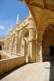 Jeronimos Monastery. Empire Square, Belem, Portugal Stock Photography