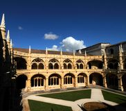 Jeronimos Monastery Royalty Free Stock Images