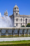 Jeronimos Monastery Abbey Belem Lisbon Royalty Free Stock Photos