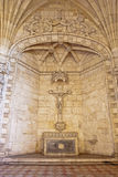 Jeronimos Monastery Altar Royalty Free Stock Photos
