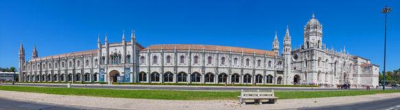 The Jeronimos monastery Royalty Free Stock Image