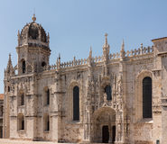 Jeronimos Monastery in Belem Lisbon Stock Photography