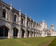 Jeronimos Monastery in Belem Lisbon Stock Photos