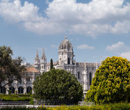 Jeronimos Monastery in Belem Lisbon Royalty Free Stock Photos