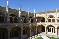 Jeronimos Monastery at Belem in Lisbon, Portugal Royalty Free Stock Photos