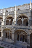 Jeronimos Monastery at Belem in Lisbon, Portugal Royalty Free Stock Photo