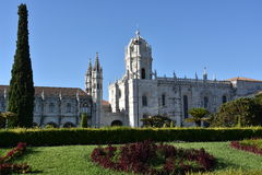Jeronimos Monastery at Belem in Lisbon, Portugal Royalty Free Stock Image