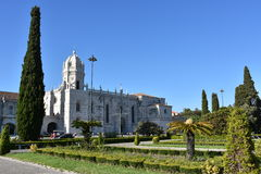 Jeronimos Monastery at Belem in Lisbon, Portugal Stock Photo