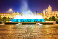 Jeronimos Monastery of Belem, Lisbon Royalty Free Stock Photos