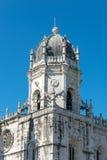 Jeronimos Monastery in Belem, Lisbon (Portugal) Stock Image