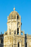 Jeronimos Monastery in Belem Royalty Free Stock Photo