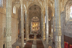 Jeronimos Monastery Royalty Free Stock Photography