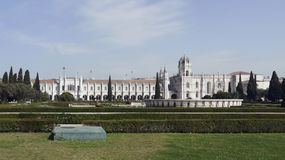 Jeronimos Monastery Stock Photo