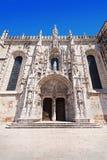 The Jeronimos Monastery Royalty Free Stock Image