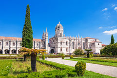 The Jeronimos Monastery Royalty Free Stock Photo