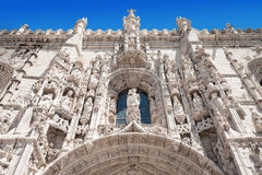 The Jeronimos Monastery Royalty Free Stock Photos