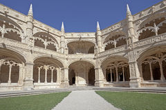 Jeronimos Monastery Inside Royalty Free Stock Photography