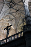 Jeronimos Monastery interior Stock Photography