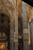 Jeronimos Monastery interior Royalty Free Stock Images